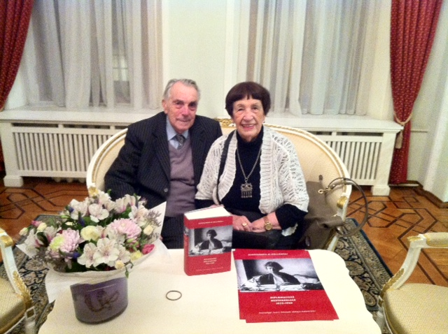 Vladimir og Ritta Kollontaj