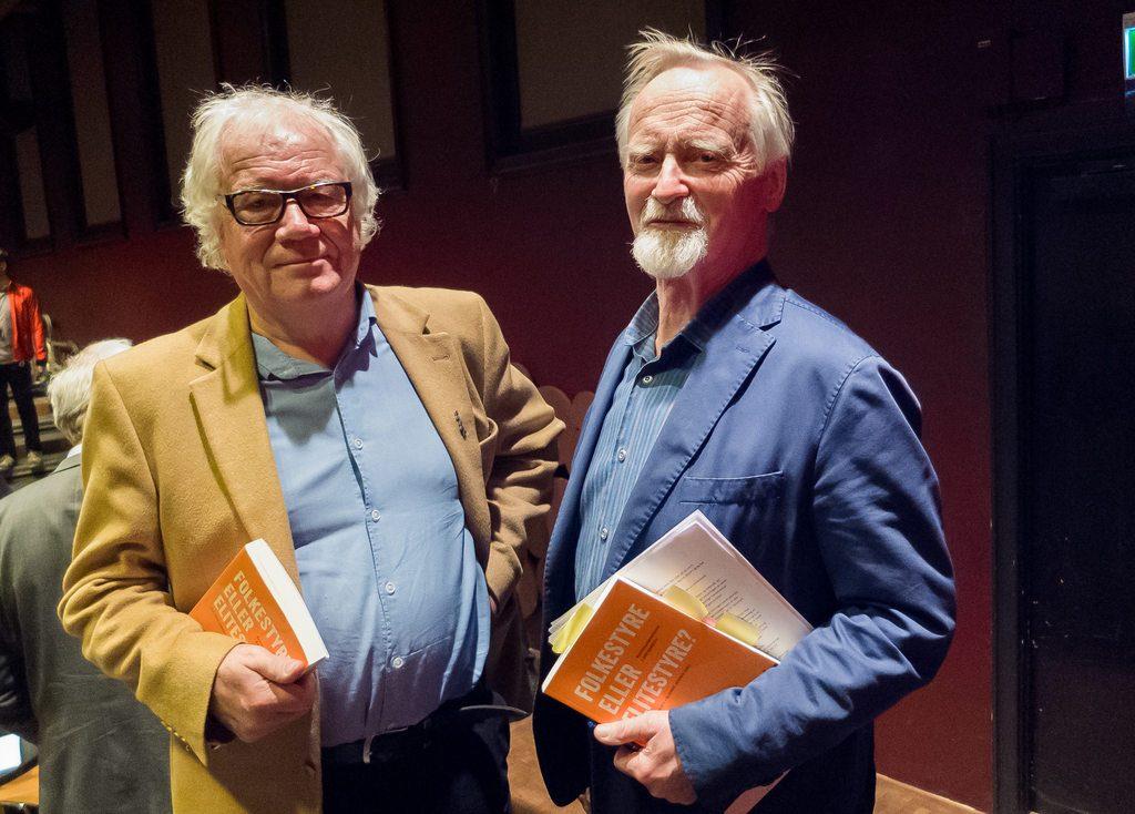 Bjarne Jensen (til venstre) og Alf-Inge Jansen