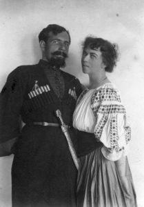 Kollontaj og Dybenko 1918